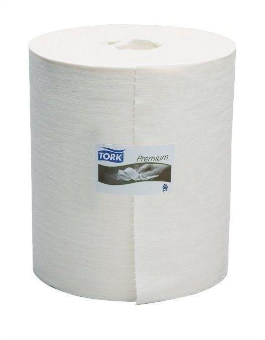 Czyściwo włókninowe Tork Premium wielozadaniowe w dużej roli białe