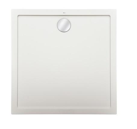 Roca Aeron brodzik kwadratowy 80x80x3,5cm biały + syfon A276284100