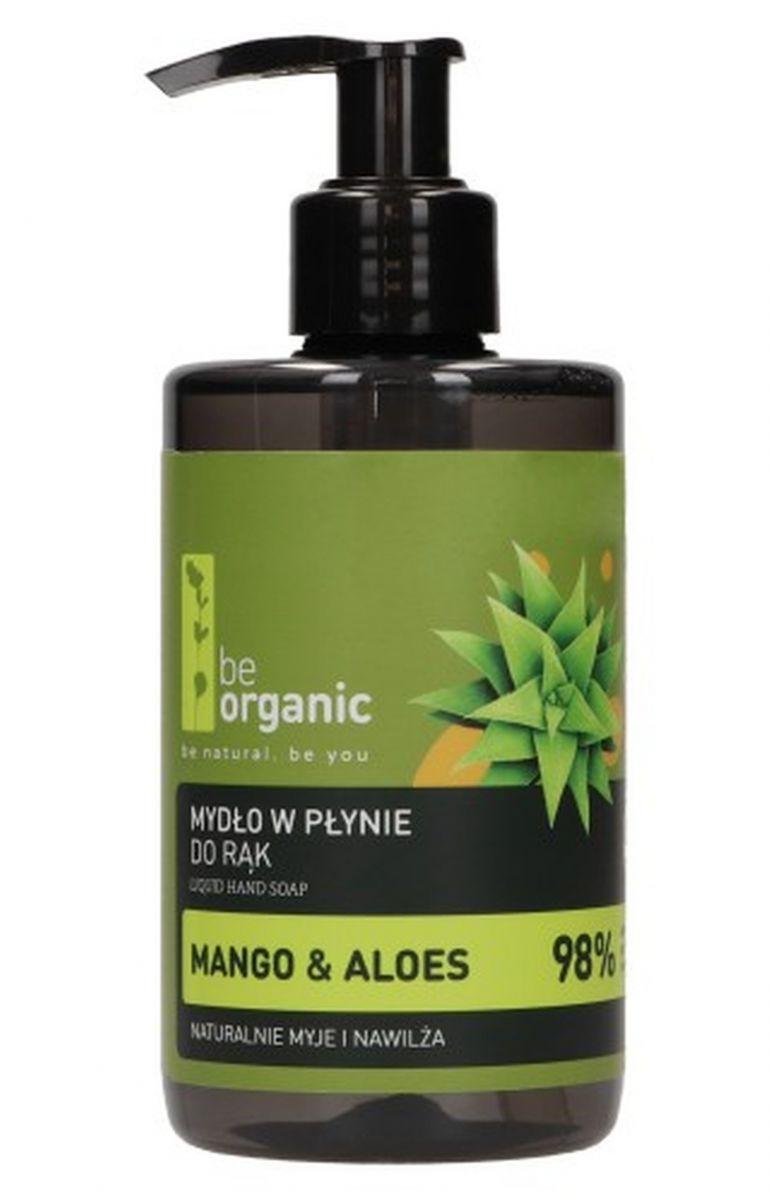 Mydło do rąk Mango i Aloes - 250ml - Be Organic