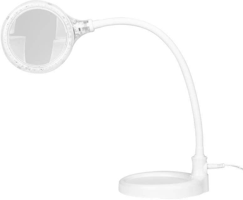 Lampa lupa elegante 2014-2r 30 led smd 5d z podstawką i klipsem na biurko