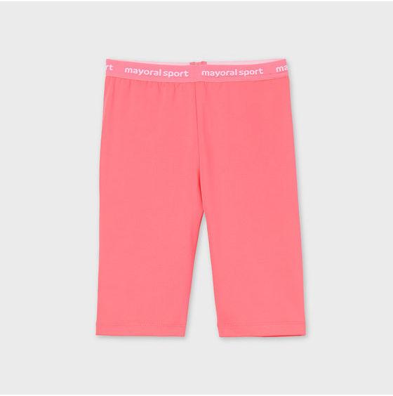 Szorty sportowe 6267 Różowy Slim FIt