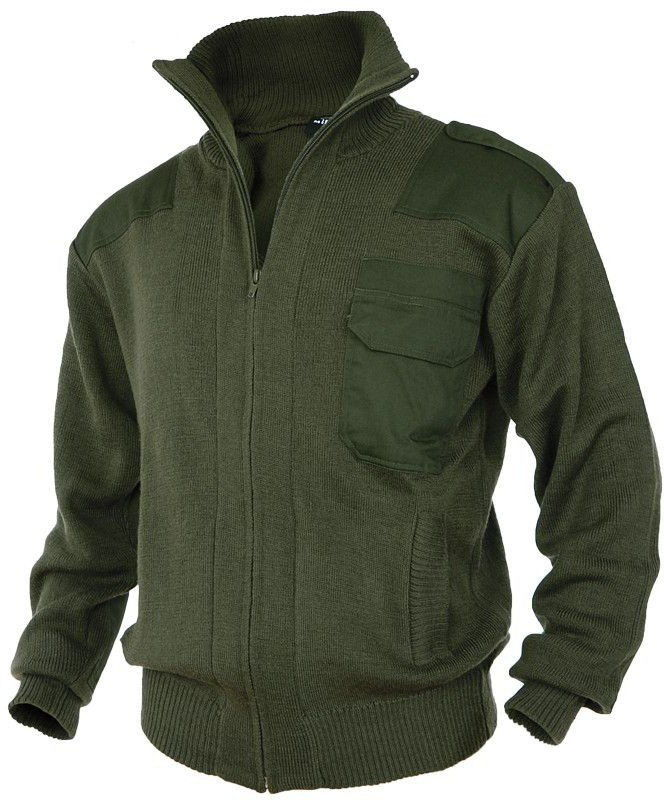 Mil-Tec Sweter Rozpinany Olive