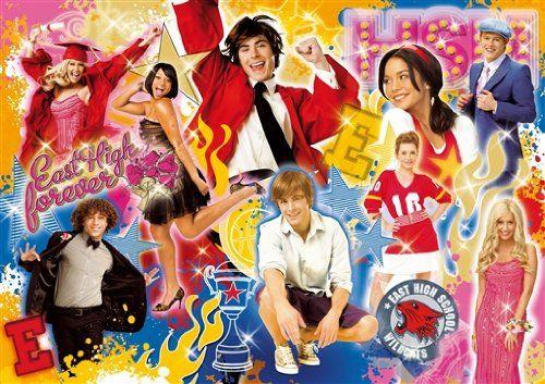 Clementoni 2955 - High School Musical East High Forever 250 części