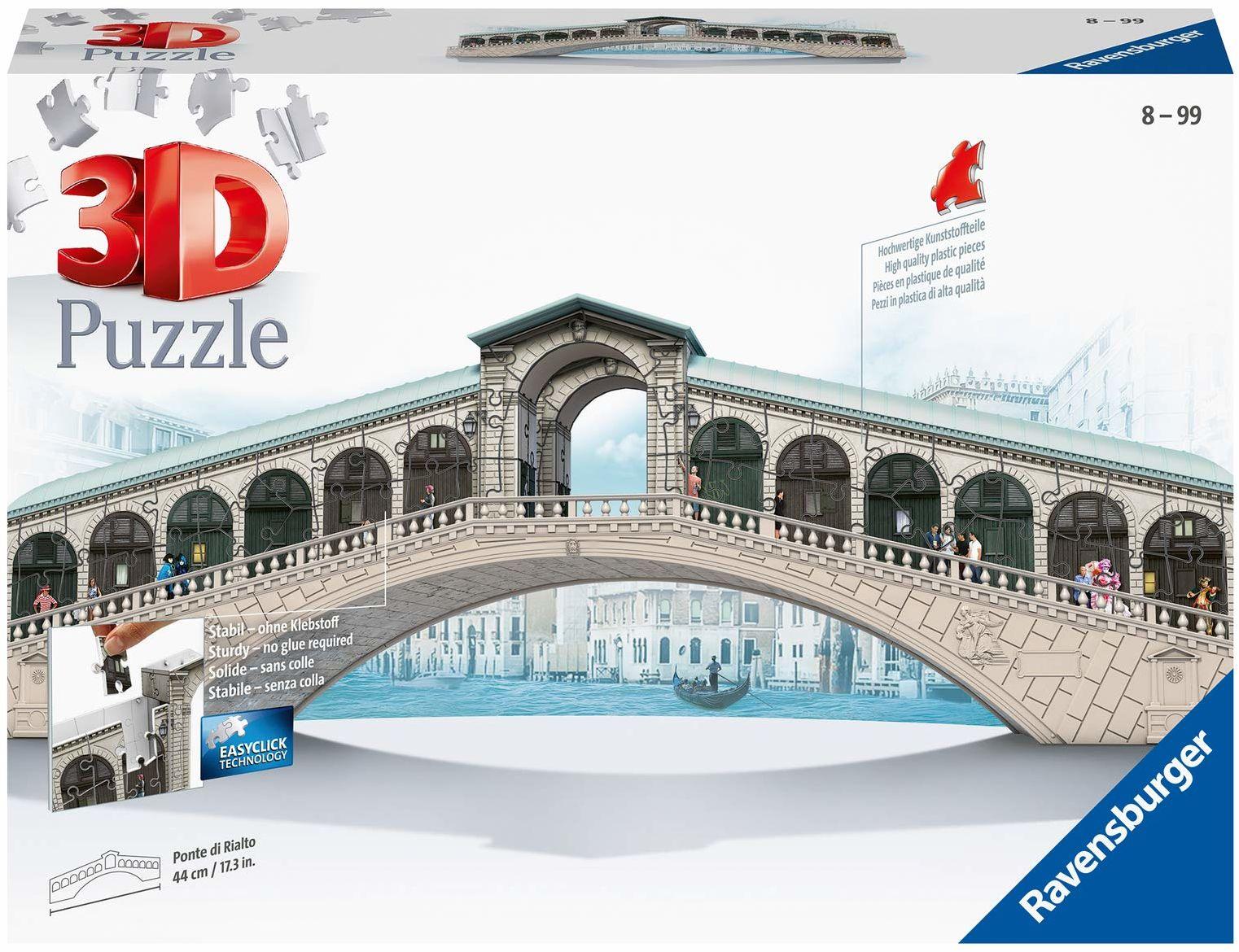 Ravensburger 12518 - Rialtmost - 3D Puzzle