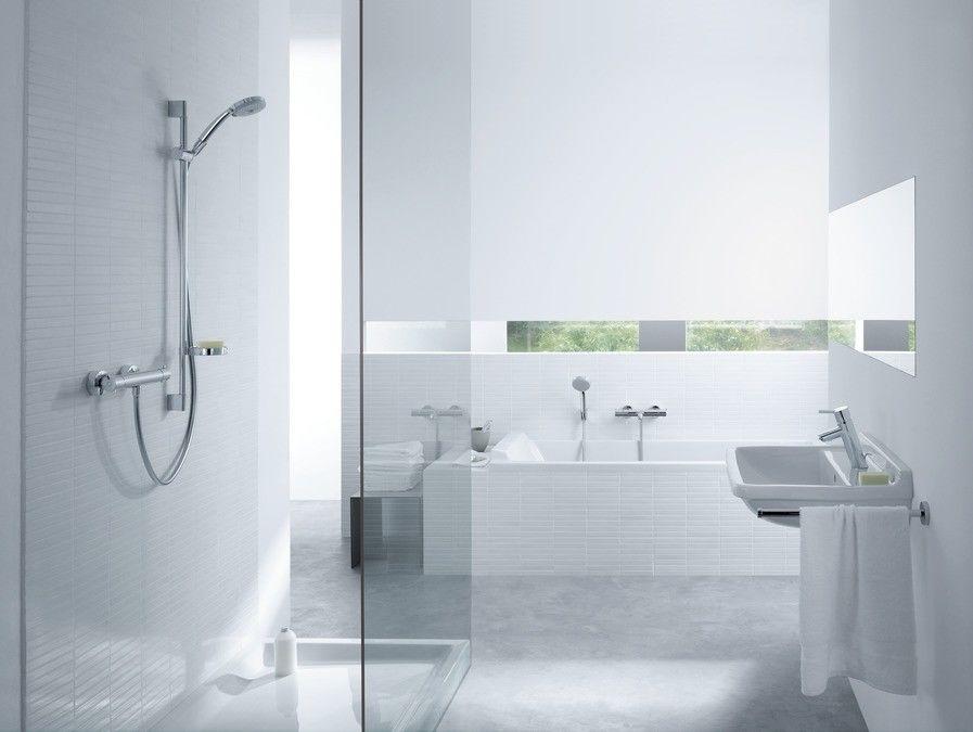 Croma 100 Multi Ecostat Combi Hansgrohe zestaw prysznicowy chrom - 27086000 Darmowa dostawa