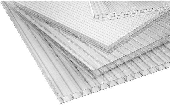 Płyta poliwęglanowa Roof pro 4 mm 1 x 2 m transparentna