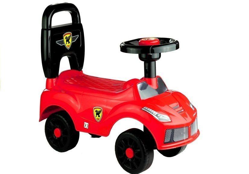 Jeździk Dla Dziecka Klakson Naklejki Czerwony