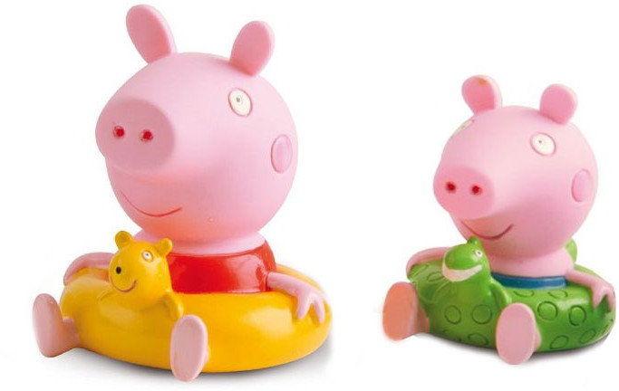 Świnka Peppa - Figurki do kąpieli Świnka Peppa i Świnka George 360082