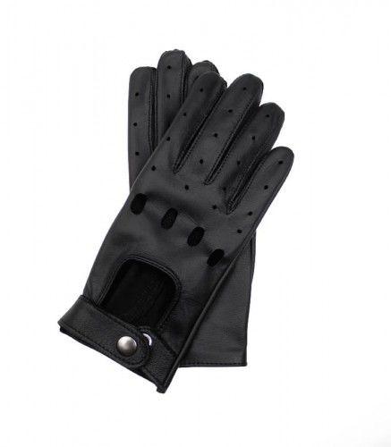 Damskie rękawiczki skórzane samochodowe z funkcją obsługi ekranów dotykowych, rękawiczki dotykowe