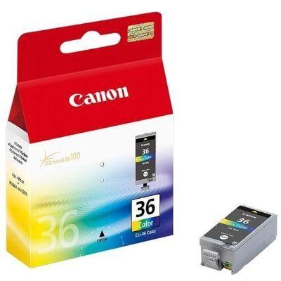 Tusz Oryginalny Canon CLI-36 (1511B001) (Kolorowy) - DARMOWA DOSTAWA w 24h