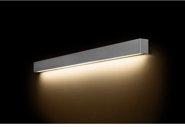 STRAIGHT LED WALL SILVER L 9615 KINKIET