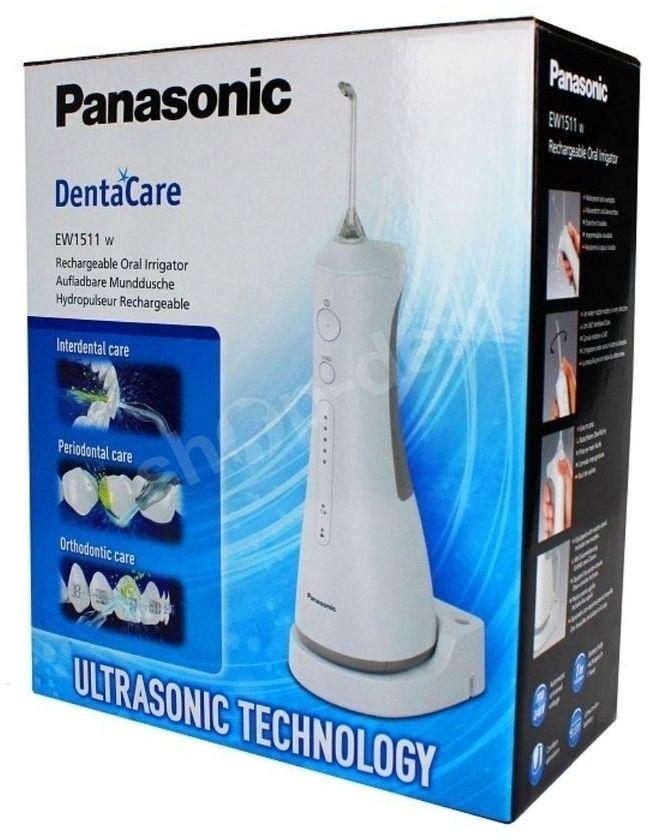 Irygator do zębów PANASONIC EW1511. Bezprzewodowy z technologią ultradźwiękową.