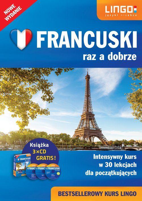 Francuski raz a dobrze Pakiet dla początkujących ZAKŁADKA DO KSIĄŻEK GRATIS DO KAŻDEGO ZAMÓWIENIA