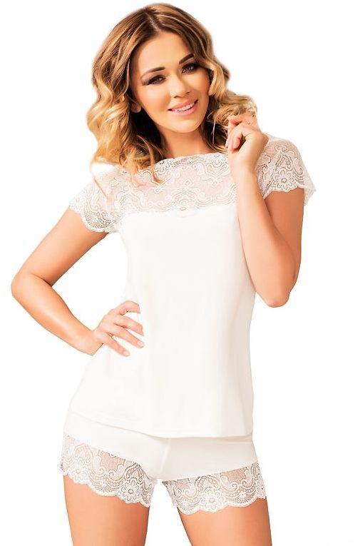 Koronkowa piżama damska Milos