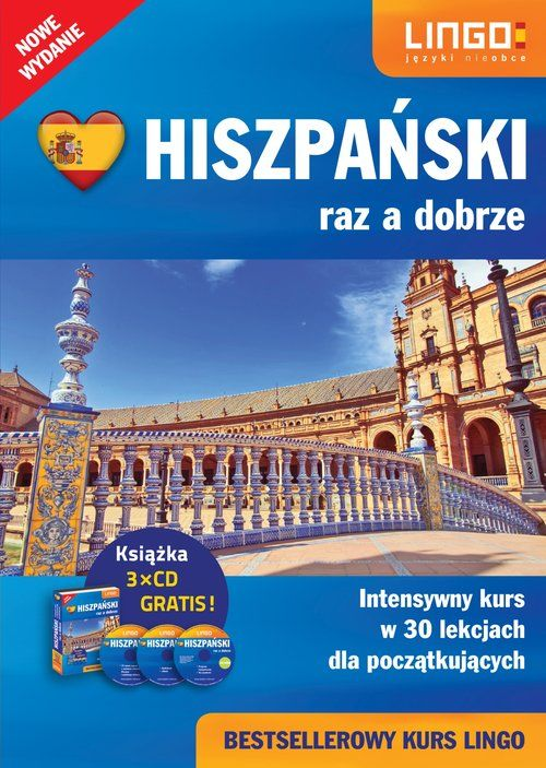 Hiszpański raz a dobrze Pakiet dla początkujących ZAKŁADKA DO KSIĄŻEK GRATIS DO KAŻDEGO ZAMÓWIENIA