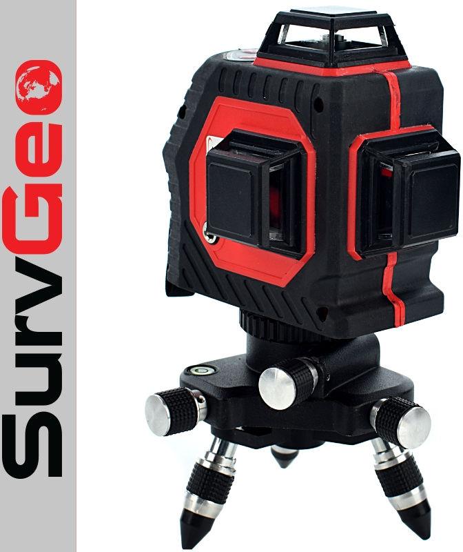 Laser płaszczyznowy 3x360  SurvGeo
