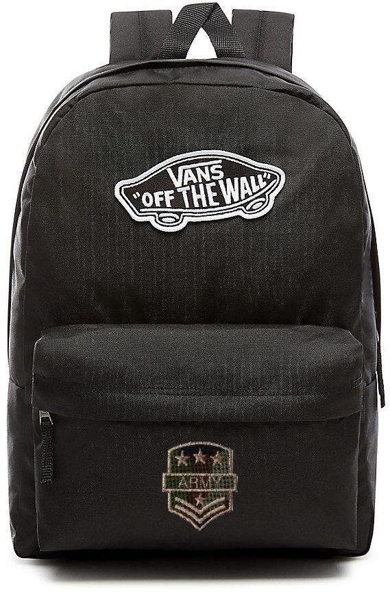 Plecak VANS Realm Backpack Custom Army - VN0A3UI6BLK