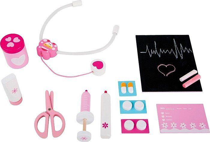 Zestaw akcesoriów, Pani doktor Pszczółka, 4233- small foot, zabawki dla dziewczynek
