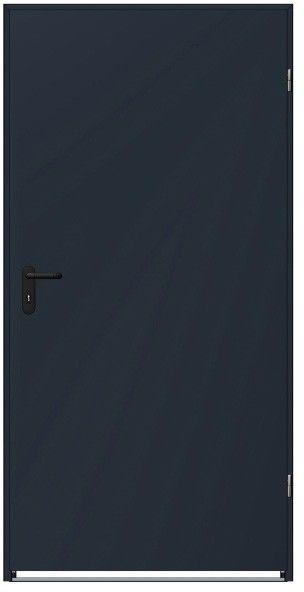 Drzwi stalowe antracyt