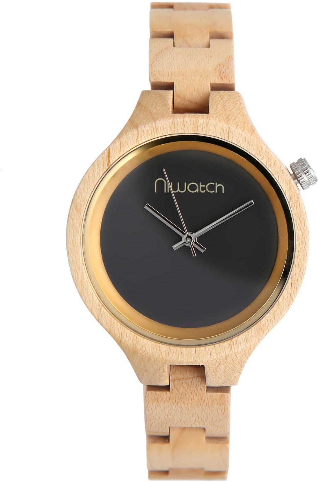 Damski zegarek drewniany Niwatch - kolekcja ELEGANCE - KLON