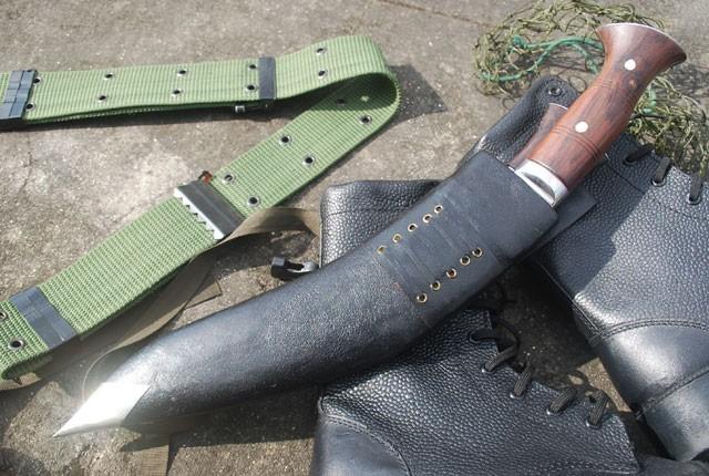Historyczny nóż Gurkhów khukri Falklandy NKH-GAEI-08