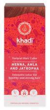 Henna naturalna Z AMLĄ I JATROPHĄ Khadi