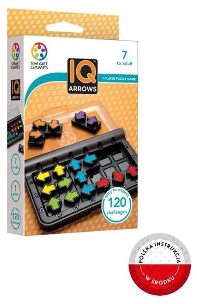 Smart Games IQ Arrows (ENG) IUVI Games - IUVI Games
