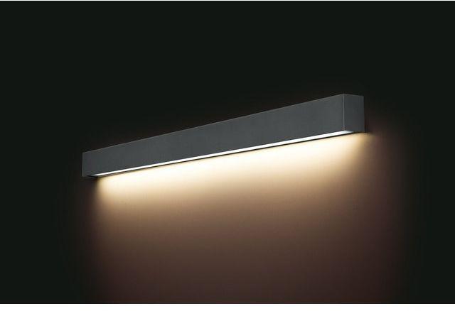 STRAIGHT LED WALL GRAPHITE L 9616 KINKIET