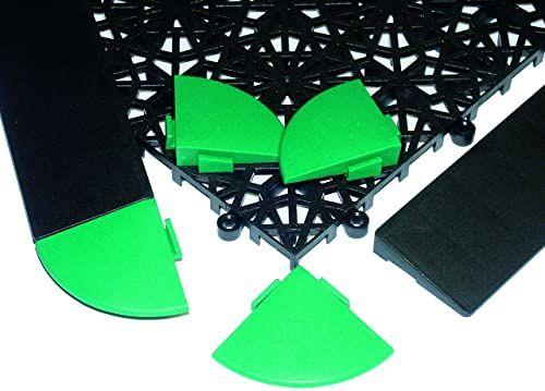 Miltex mata podłogowa, zielona