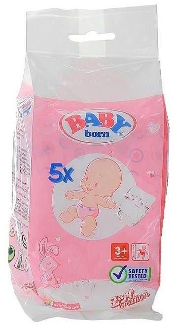 BABY Born - Pieluszki 5 szt. 815816