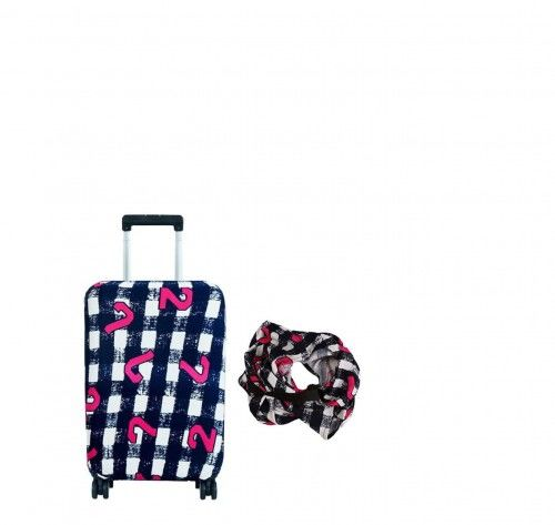 Pokrowiec ochronny Ibiza na małą walizkę kabinową