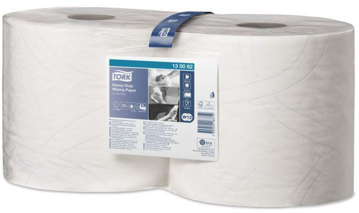 Czyściwo papierowe wielozadaniowe Tork Premium do trudnych zabrudzeń w małej roli białe