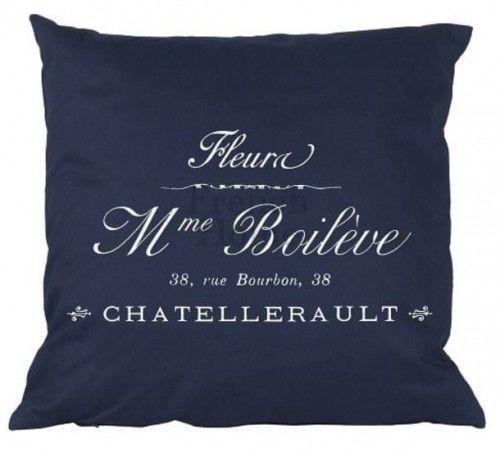 Poduszka w stylu francuskim Madame