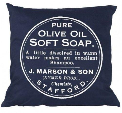 Poduszka w stylu prowansalskim Soap