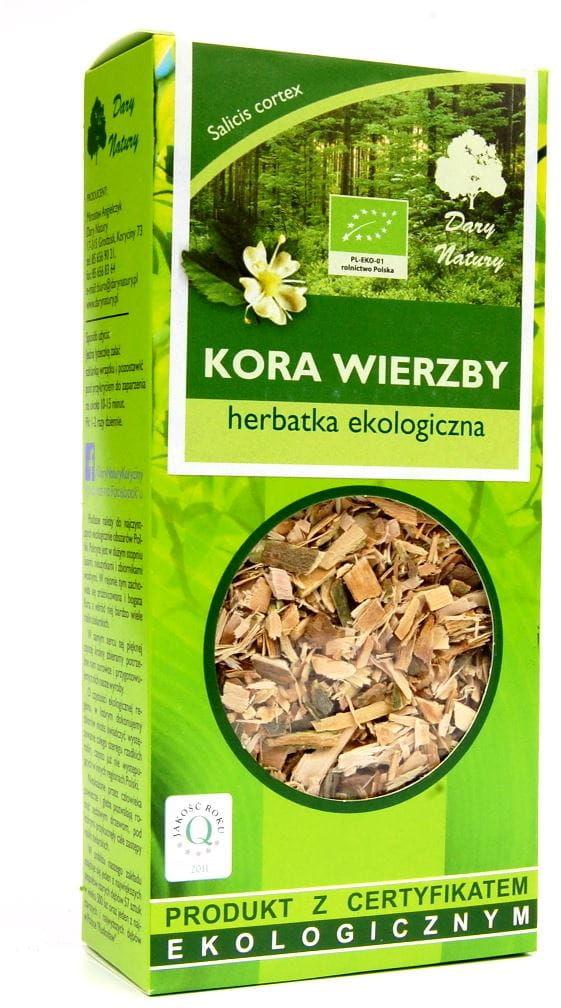 Herbatka z kory wierzby bio 100 g - dary natury