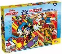 Puzzle 60 dwustronne Myszka Miki i Przyjaciele - Lisciani