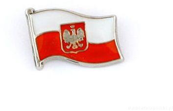 Flaga Polski Mini - przypinka