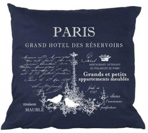 Poduszka w stylu francuskim Paris