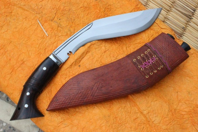 Historyczny nóż Gurkhów khukri I oraz II W.Ś. EKH-GAEI-20