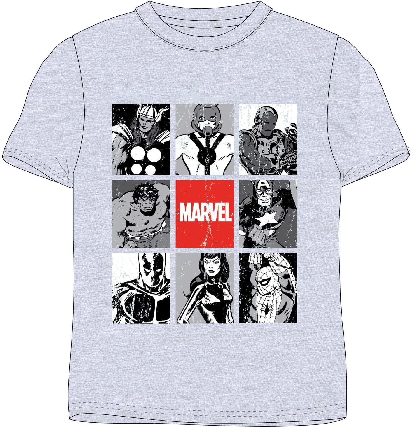 Bluzka chłopięca AVENGERS - Marvel, szara