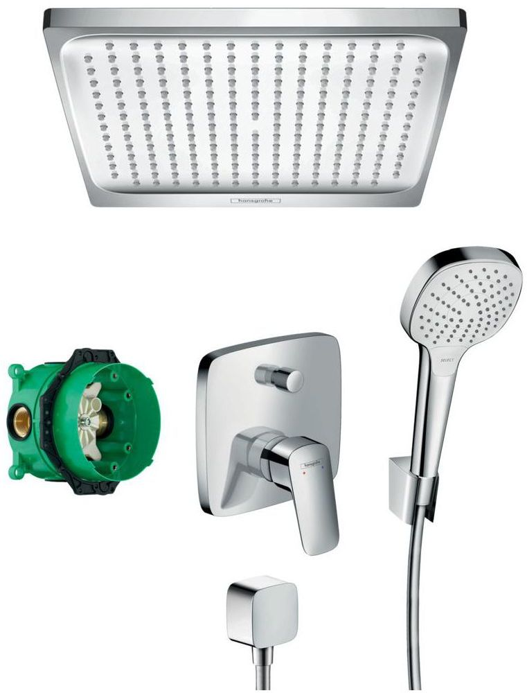 System podtynkowy MYCUBE HANSGROHE