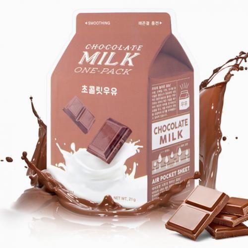 A''PIEU Mleczno-czekoladowa, wygładzająca maseczka w bawełnianej płachcie 21g