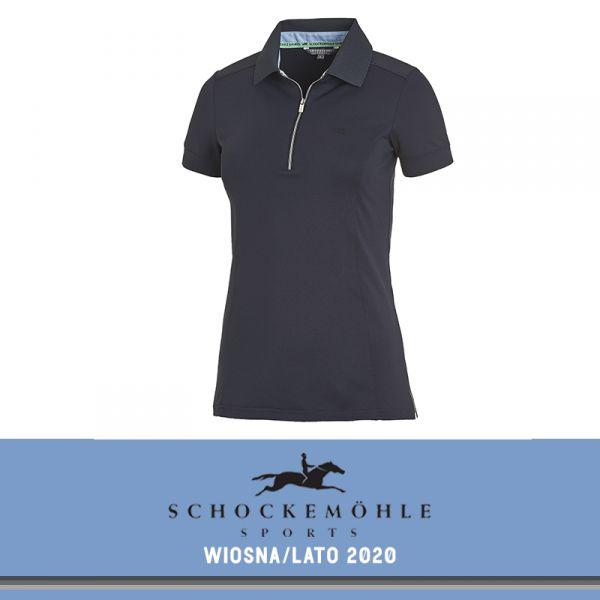 Koszulka polo FIONA SS20 - Schockemohle - moonlight blue