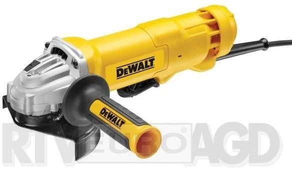 szlifierka kątowa 125mm z włącznikiem łopatkowym, 1400W DeWalt [DWE4233]