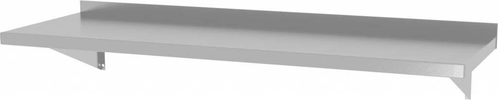 Półka wisząca na konsolach z dwiema konsolami szer: 600 - 1500mm gł: 300mm