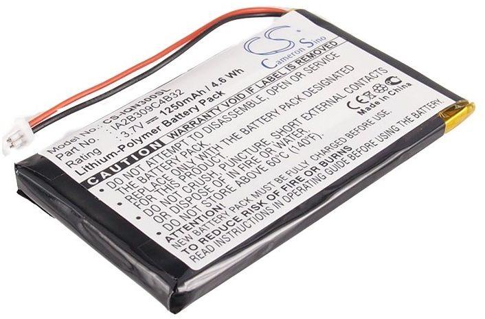 Garmin Nuvi 300 / 361-00019-02 1250mAh 4.63Wh Li-Polymer 3.7V (Cameron Sino)