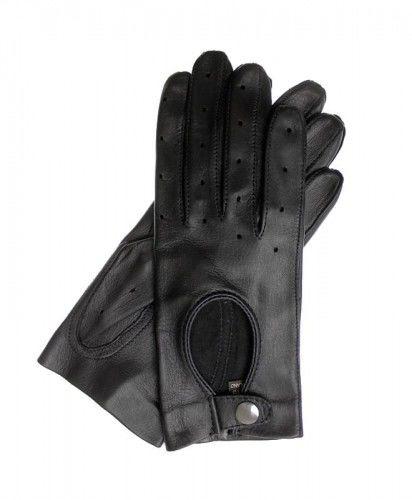 Damskie rękawiczki skórzane touch screen, rękawiczki całuski dotykowe