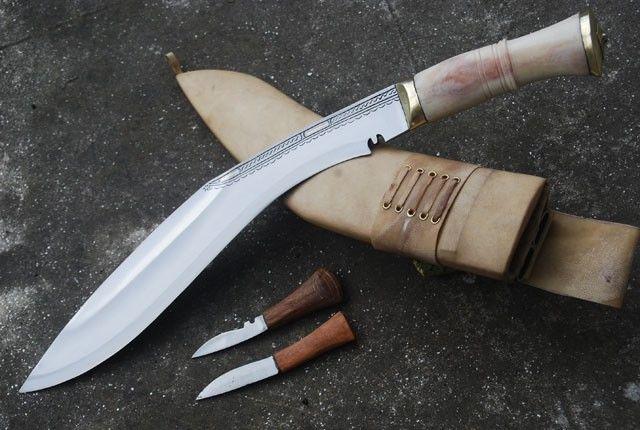 Historyczny nóż Gurkhów khukri XIX w NKH-GAEI-09