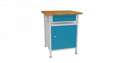 Stół warsztatowy slusarski metalowy STW 112 szer. 60cm
