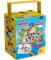 Puzzle Mini 60 w tubie Myszka Miki i przyjaciele - Lisciani